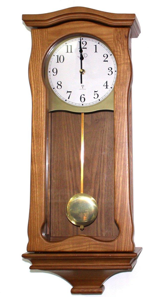 Zegar ścienny Jvd Nr221911 Z Kurantami Drewniany