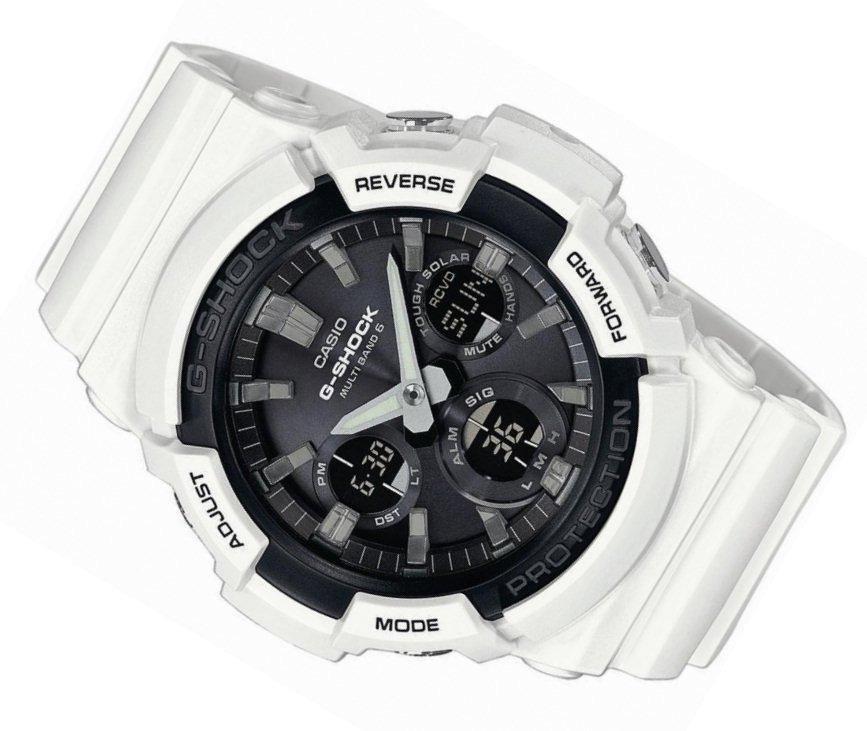 a8baaa2f125b7f ... Zegarek Casio G-Shock GAW-100B-7AER Solar Wave Ceptor Kliknij, aby  powiększyć