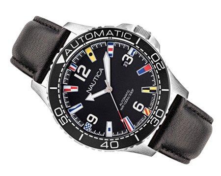Automatyczny zegarek Nautica Jones Beach NAPJBF911 Flags Data