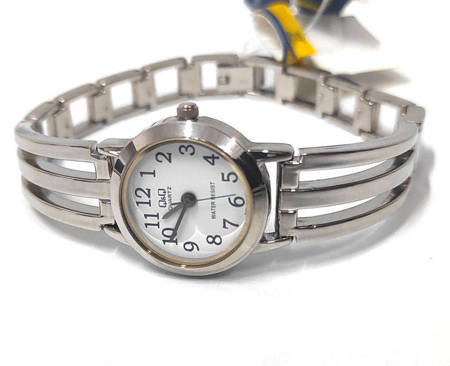 Biżuteryjny zegarek damski Q&Q F159-204