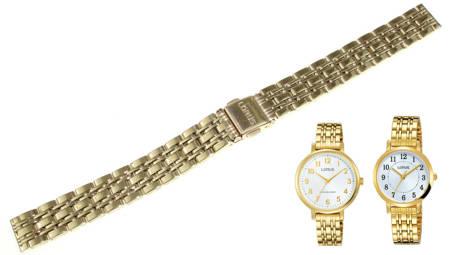 Bransoleta mesh do zegarka Lorus 14 mm RTA48AX9
