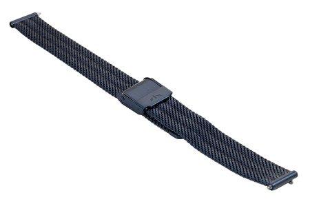 Bransoleta stalowa do zegarka 14 mm Bisset BM-103/14 Blue