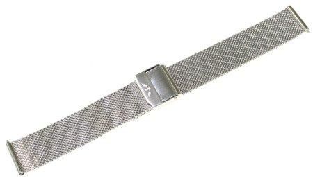 Bransoleta stalowa do zegarka 16 mm Bisset BM-101/16 Silver