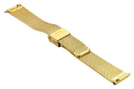 Bransoleta stalowa do zegarka 16 mm Bisset BM-104/16 Gold