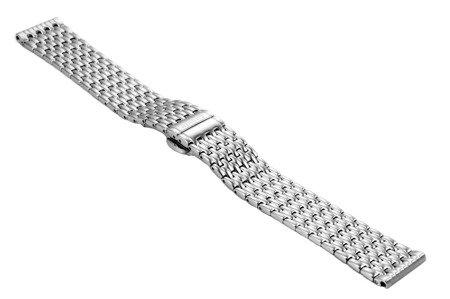 Bransoleta stalowa do zegarka 18 mm BR-126/18 Silver