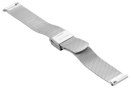 Bransoleta stalowa do zegarka 18 mm Bisset BM-105/18 TT Rose