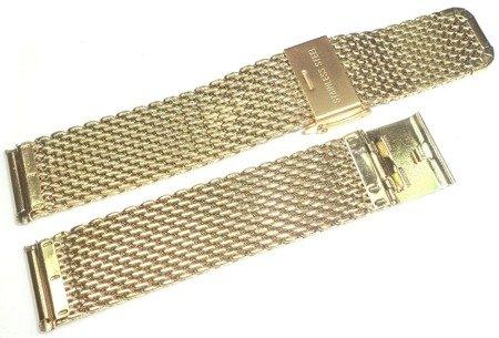 Bransoleta stalowa do zegarka 18 mm Tekla TB18.005.09 Mesh