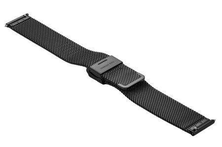 Bransoleta stalowa do zegarka 20 mm Bisset BM-101/20 Black