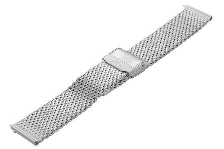 Bransoleta stalowa do zegarka 20 mm Bisset BM-102/20 Silver
