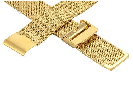 Bransoleta stalowa do zegarka 20 mm Bisset BM-105/20 Gold