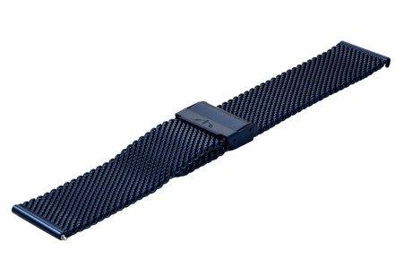Bransoleta stalowa do zegarka 22 mm Bisset BM-102/22 Blue