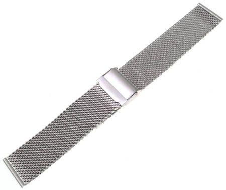Bransoleta stalowa do zegarka 22 mm Tekla BG1.22 Silver