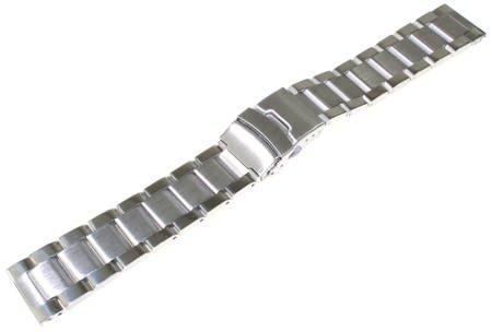 Bransoleta stalowa do zegarka 22 mm Tekla BL1.22