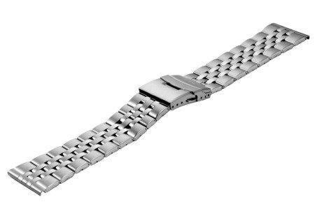 Bransoleta stalowa do zegarka 26 mm BR-123/26 Silver
