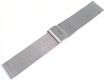 Bransoleta stalowa do zegarka 26 mm Tekla BC1.26 Silver