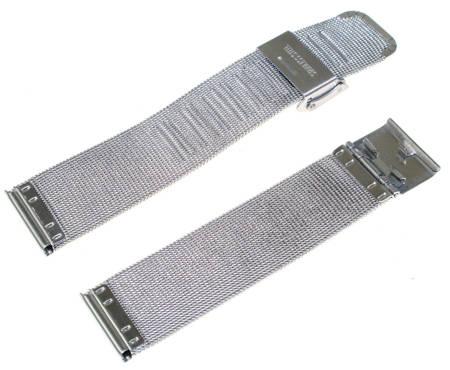 Bransoleta stalowa do zegarka Diloy MESH05-22-0 22 mm