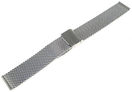 Bransoleta stalowa do zegarka Diloy MESH10-22-0 22 mm
