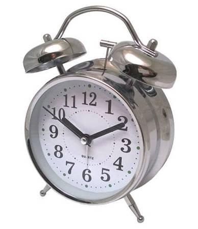 Budzik Atrix ATB045W Bell Alarm Retro