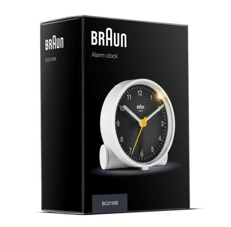 Budzik Braun BC01WB