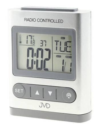 Budzik JVD RB31.1 Termometr, 5 alarmów