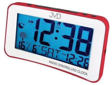 Budzik JVD RB860.1 Dwa alarmy, DCF77