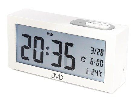 Budzik JVD SB138.2 z termometrem Sensor Light