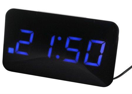 Budzik JVD SB24.2 Dwa alarmy, funkcja ładowarki