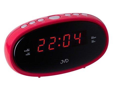 Budzik JVD SB95.3 Radio FM, 2 alarmy
