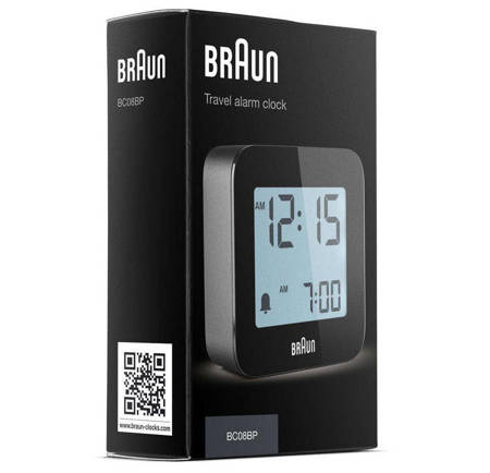 Budzik elektroniczny Braun BC08B