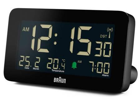 Budzik z termometrem Braun BC10B-RC