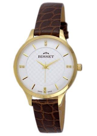 Damski zegarek BISSET BSAE58 GISX 03BX Cyrkonie