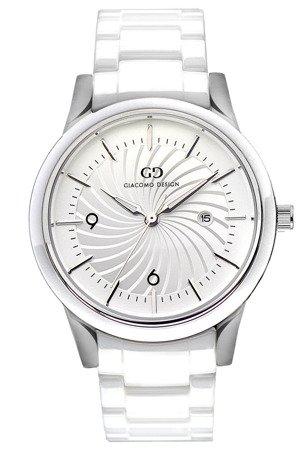 Elegancki ceramiczny zegarek Giacomo Design GD10001