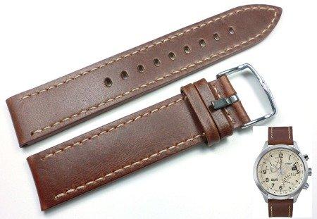 Pasek do zegarka Timex T2N932 P2N932 20 mm Skóra