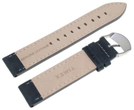 Pasek do zegarka Timex T49877 P49877 20 mm Skóra