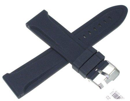 Silikonowy pasek do zegarka 22 mm JVD R22201-22