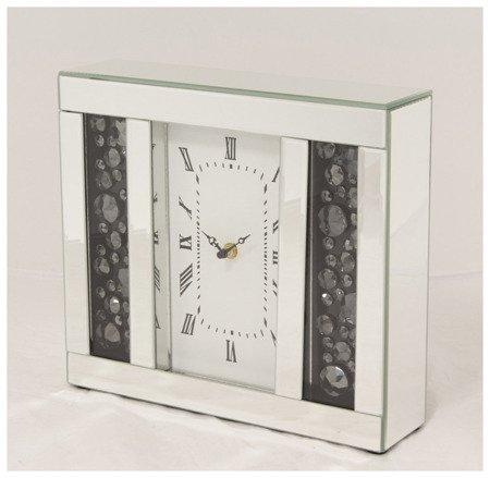 Zegar ścienny Art-Pol Szklany Kryształki 30 cm 115928