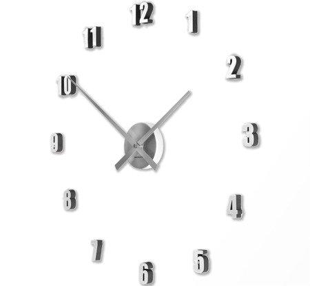 Zegar ścienny ExitoDesign HS-138SL naklejany na ścianę, szybę...