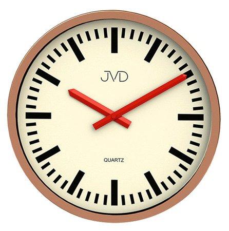 Zegar ścienny JVD H306.2 Czytelny 30 cm Aluminium