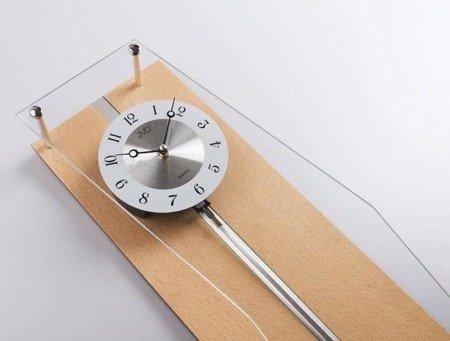 Zegar ścienny JVD N12002.68 z wahadłem