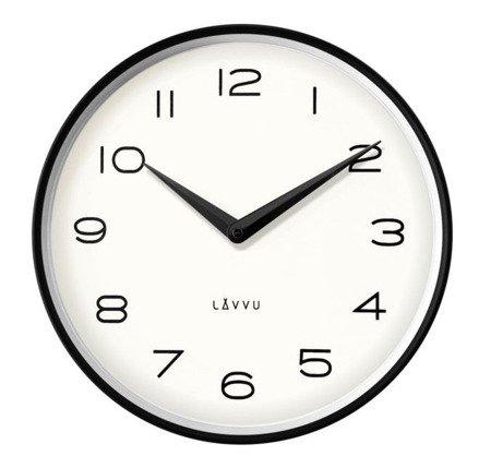 Zegar ścienny Lavvu LCT1210 metalowy 30 cm