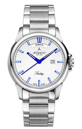 Zegarek Atlantic Seaday 69555.41.21BP Polski datownik