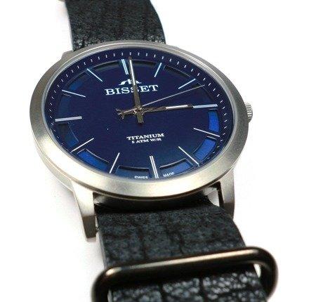 Zegarek Bisset BSCE43 DIDX 05BX Tytanowy