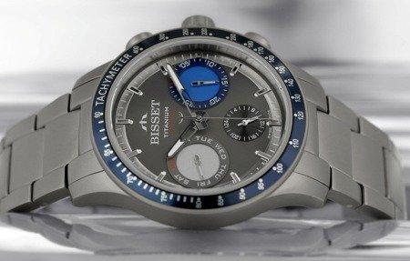 Zegarek Bisset BSDE37 DIVD 10BX Tytanowy