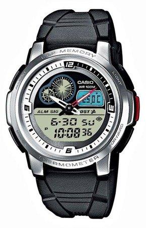 Zegarek Casio AQF-102W-7BVEF Termometr