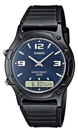 Zegarek Casio AW-49HE-2AV Analogowo-cyfrowy