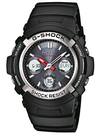 Zegarek Casio AWG-M100-1AER G-Shock Solar Wave Ceptor
