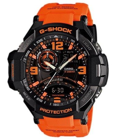 Zegarek Casio GA-1000-4AER G-Shock Kompas Termometr