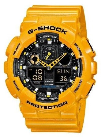 Zegarek Casio GA-100A-9AER G-Shock