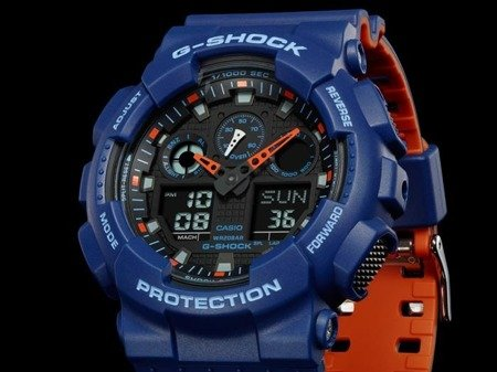 Zegarek Casio GA-100L-2AER G-Shock