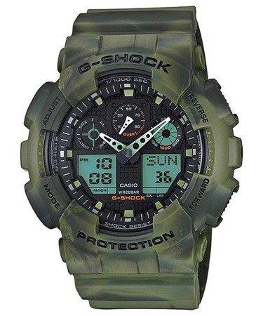 Zegarek Casio GA-100MM-3AER G-Shock